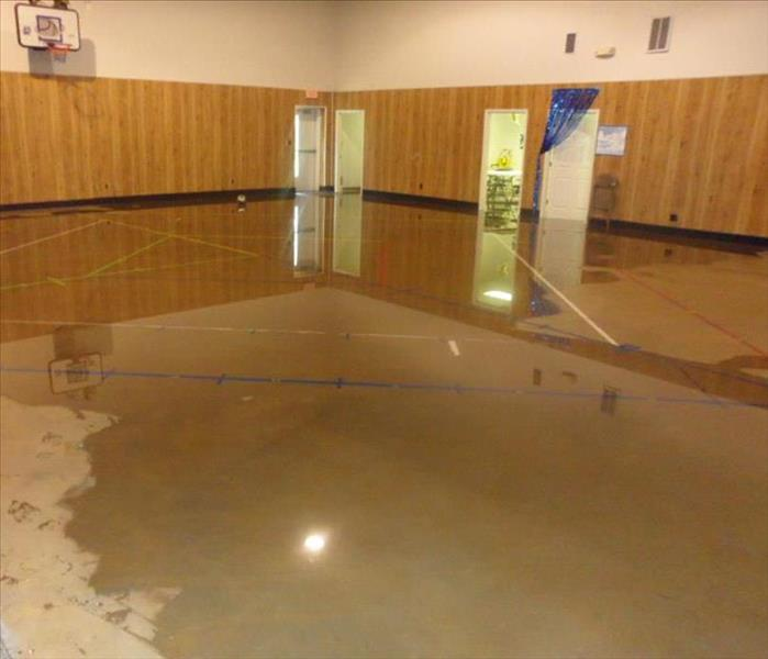 Water Damage Doesn't Affect Churh Services Before