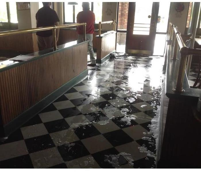 Commercial Water Damage in Meridian