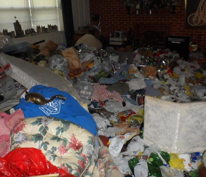 SERVPRO of Meridian has experience in cleaning hoarding homes.
