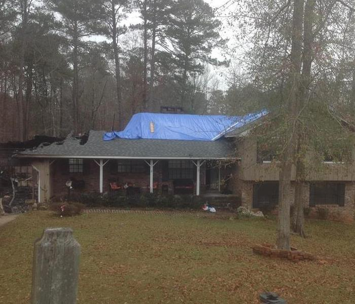 Fire Damage to Meridian Area Home