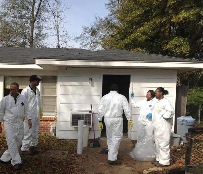 Biohazard SERVPRO of Meridian Biohazard and Crime Scene Cleanup and Restoration